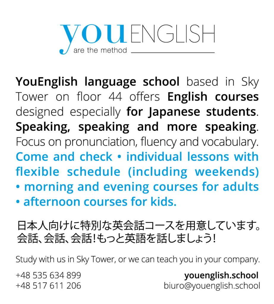 angielski dla studentów zJaponii